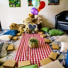 teddy bear picnic 1st birthday party