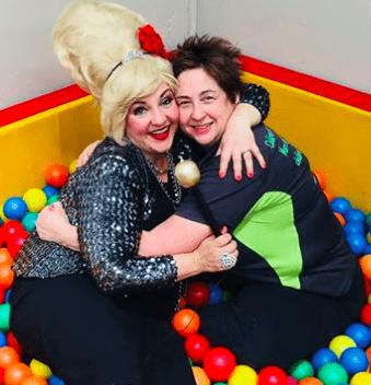 Ivana Babbleoff Visits Kindergym