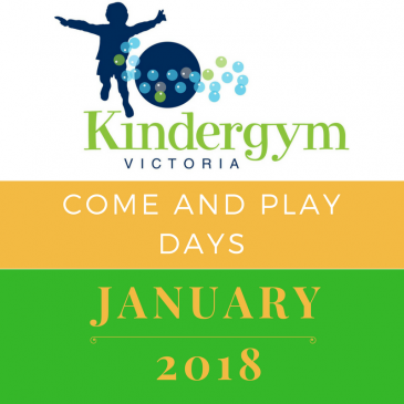Come and Play Days in January