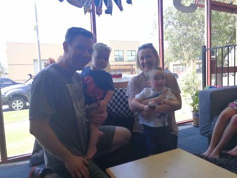 Our Kindergym Families: Meet Ben, Bianca, Hudson & Leo