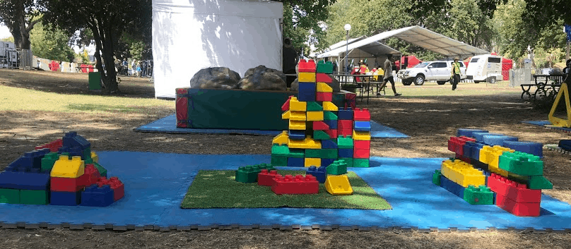 blocks set up