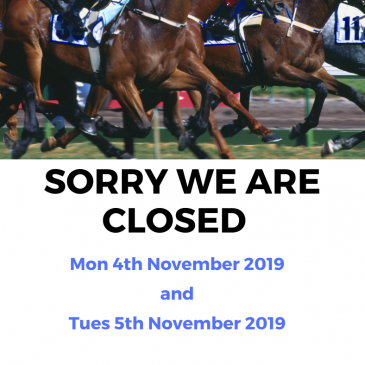 We Are Closed Cup Day!