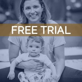 Yoga: Baby and me – FREE TRIAL